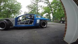 LS Turbo S14 240sx project drift car finally moving