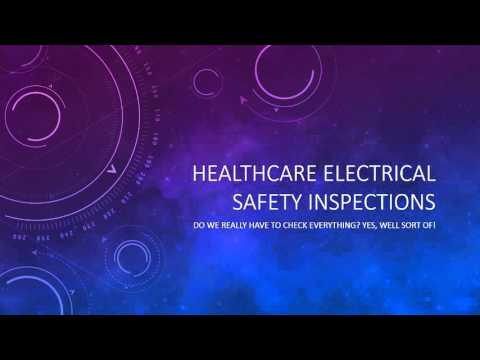 Healthcare Electrical Safety Inspections