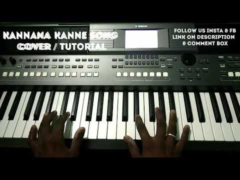 Kannana Kanne Song | Keyboard Cover/Tutorial | Viswasam | Ajith | Dazzling Melodies |