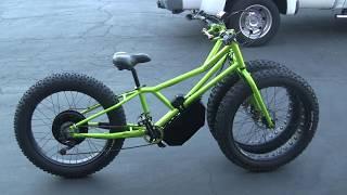 Juggernant Stalker Monster Fat Bike - Custom 3000w