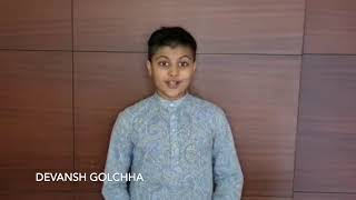 """SaY"" it with Inspiration: Daughters of India - Devansh Golchha"