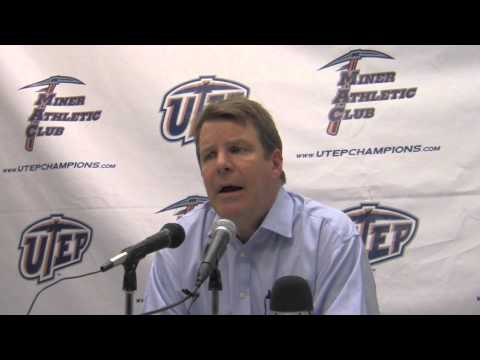 Tim Floyd reacts to talk with USC