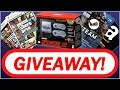 GIVEAWAY! SNES Classic, Gift Cards, GTA Merch, and More!