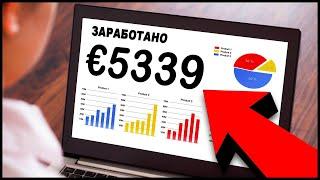 ПОЛУЧЕНО €5339! Заработок в Интернете с нуля на АРБИТРАЖЕ ТРАФИКА через партнерские программы