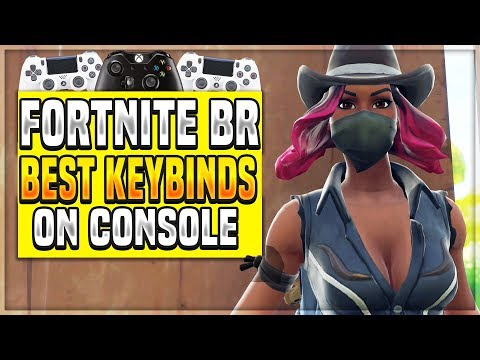The Best Custom Keybinds For Ps4 Xbox One Controllers On Fortnite