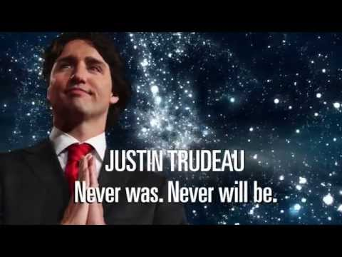 Working Canadians ad: Trudeau Space and Time