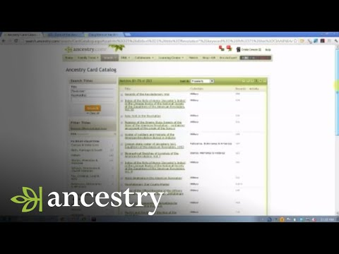 Understanding SAR/DAR Applications in Genealogy | Ancestry