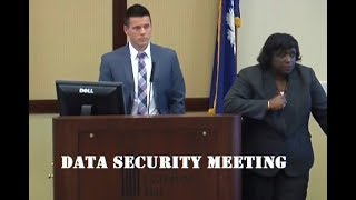 Complying with the SC Insurance Data Security Act- September 10, 2018