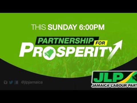 Jamaica Labour Party Half-Way-Tree Rally - February 21