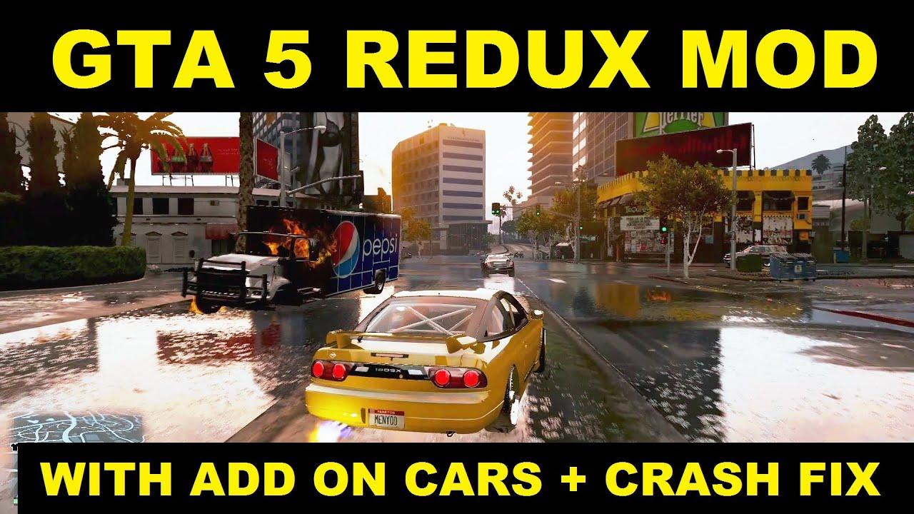 Gta  Crash After I Add On More Cars