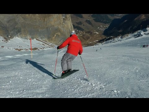 Dolphin Turns - Advanced Skiing Drills for Balance