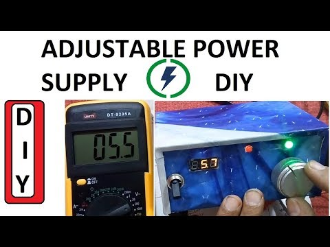 Make Adjustable power supply Easy Steps DIY 1.2V to 30 V Battery Charger