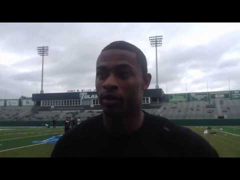 Tulane CB Lorenzo Doss talks about his up and down performance vs. Rutgers: video