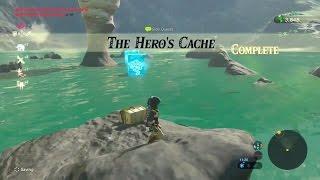 Zelda: Breath of the Wild | The Hero's Cache Side Quest - Hateno Tower Region