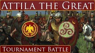 Total War Rome 2 Attila the Great Tournament Finals Game 3