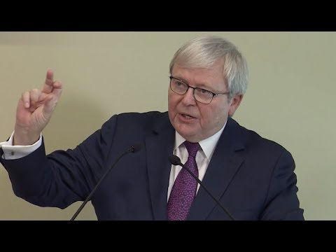 Kevin Rudd on