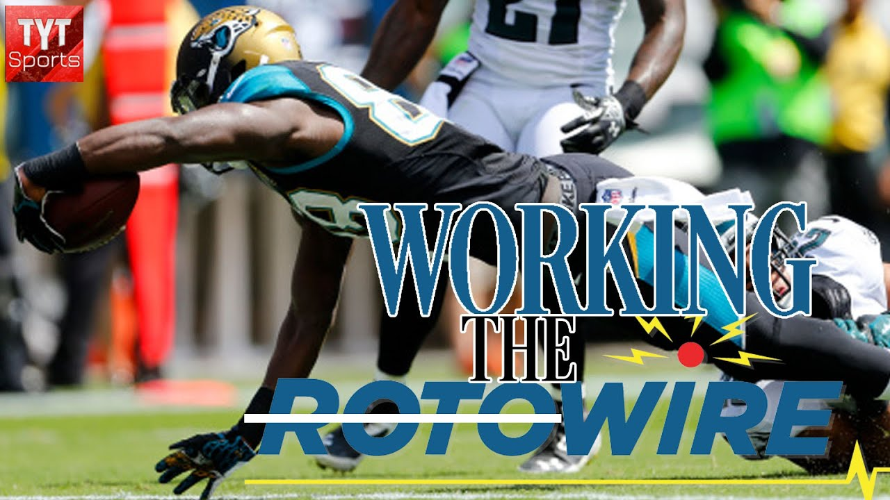 Working the Wire [Week 2 Fantasy Football] - YouTube