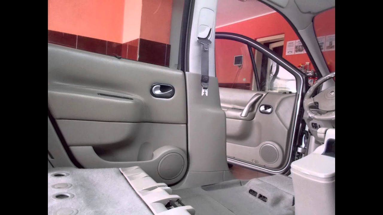 Interior detailing renault scenic youtube for Interior renault scenic