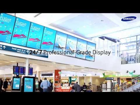 2013 Samsung Display Solutions B2B Vision