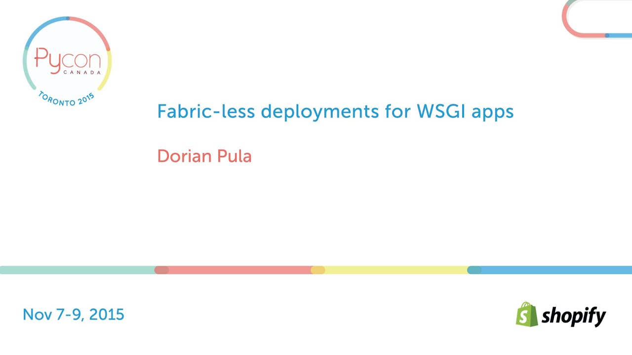 Image from Fabric-less deployments for WSGI apps