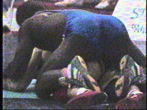 1992 Pan-American Championships: 90 kg Final Greg Edgelow (CAN) vs. Roberto Limonta Vargas (CUB)