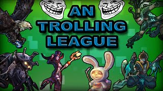 AN TROLLING LEAGUE - Episode 1