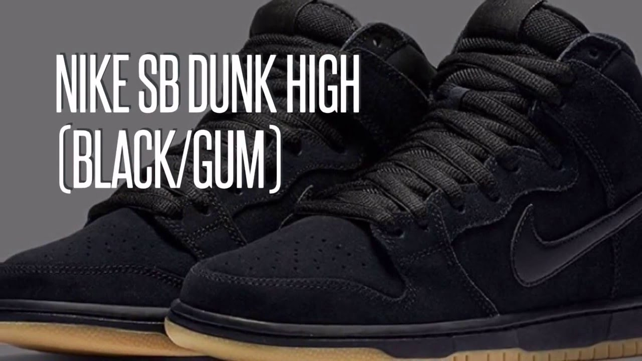 5768587384f8 ... spain nike sb dunk high all black 6987c 067ef
