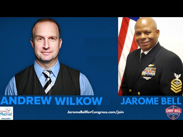 Jarome Bell and Andrew Wilkow on SiriusXM Radio