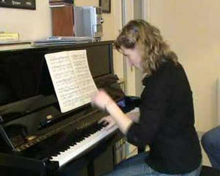 Sonata in C K. 330 W.A.Mozart 2nd Mvt.