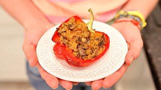 ПРОСТО БОМБА Фаршированный перец | рецепт рукавички