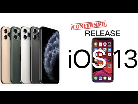 iOS 13.0 13.1 Release Dates CONFIRMED iPhone 11 Announcement