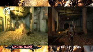 Prince of Persia 3 Kindred Blades VS The Two Thrones