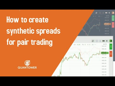 How to Create Synthetic Spreads for Pair Trading