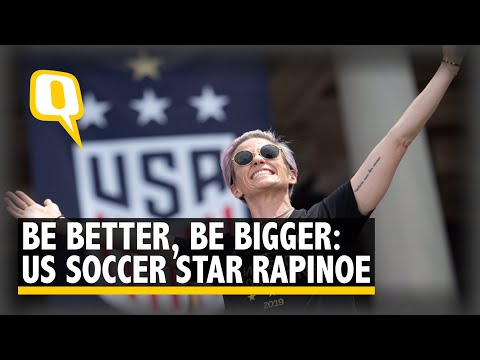 Love More, Hate Less: US Soccer Star Rapinoe at Victory Parade | The Quint