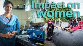 Biodigesters impact on women   Sistema.bio India