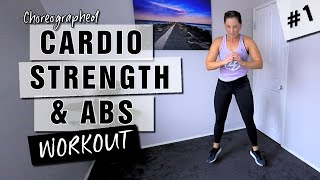 WORKOUT #1 - Cardio, Strength & Abs Workout // No Equipment - 15 Minutes // Beginner to Advance