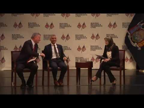 Building Inclusive & Progressive Cities: NYC Mayor de Blasio and London Mayor Sadiq Khan