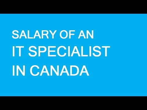 Salary Of IT Specialists In Canada. What To Expect And Prepare For. LP Group