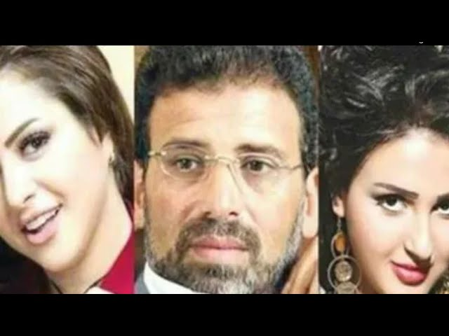 بالفيديو فضيحة مني فاروق وشيماء الحاج مع خالد يوسف   الفديو الحقيقى والله بجد #1
