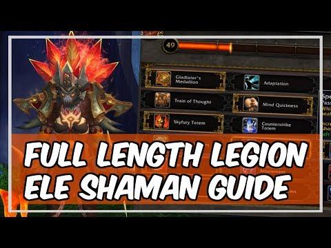 Full Length Legion 7.3 Elemental Shaman Guide by Xaryu