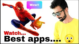 Amazing Android app || must try Android app || amazing Spiderman man with me || app || best app