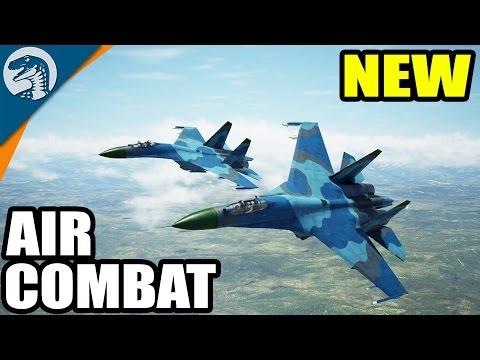 HUGE FIGHTER JET BATTLE - ACE COMBAT? | Project Wingman Alpha Gameplay