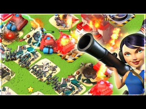 This Strategy is UNSTOPPABLE!! Boom Beach Scorchers and Zookas