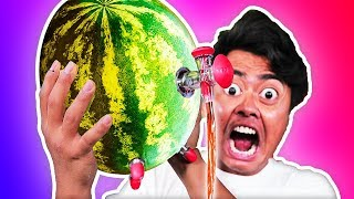 Trying Weird Watermelon Gadgets You Never Knew About! thumbnail
