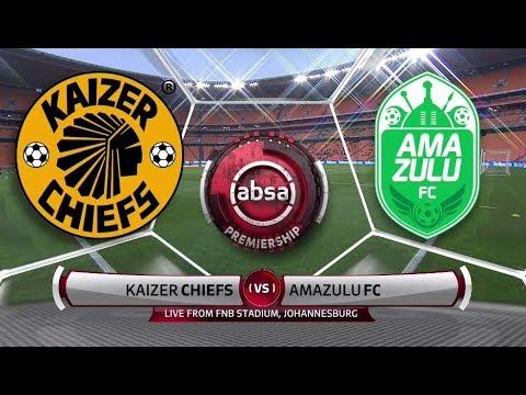 Absa Premiership 201819  Kaizer Chiefs vs AmaZulu FC