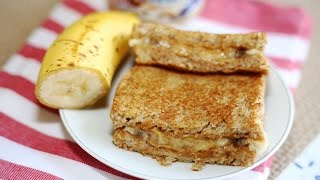 Sandwich Recipe : Grilled Peanut Butter and Banana Sandwich