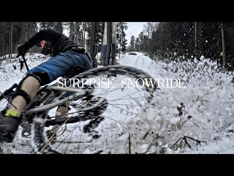 SURPRISE SNOWRIDE | whip the snow away - Trippstadt vlog -subtitled-
