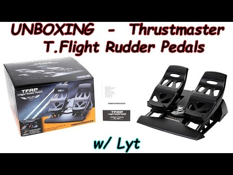 Unboxing - Thrustmaster TFRP Rudder Pedals