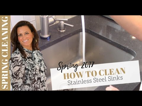 Spring Cleaning: How to Clean Stainless Steel Sink