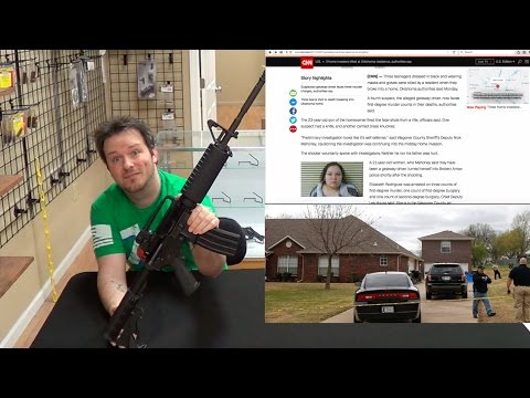 Counter Talk 3: Oklahoma Home Invasion Leaves 3 Dead - AR15 in Home Defense